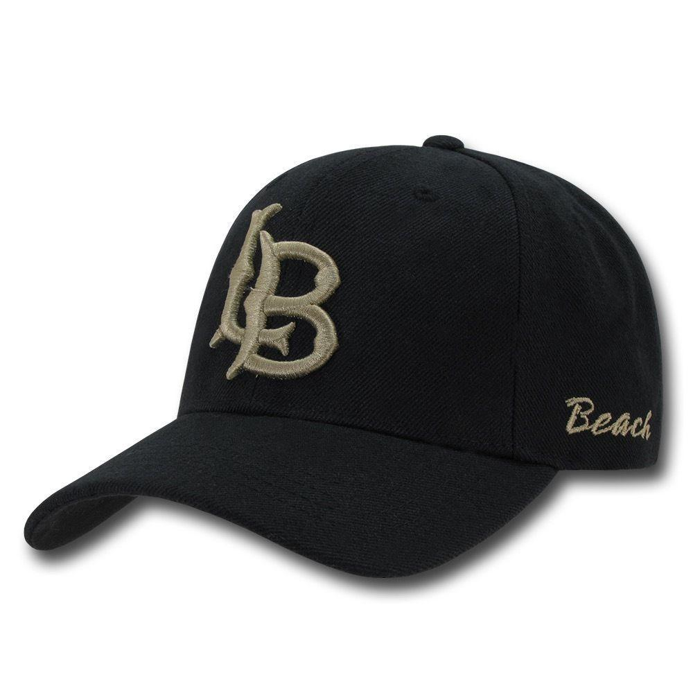 NCAA Csulb Long Beach State 49Ers California Structured Cap Baseball Caps Hats
