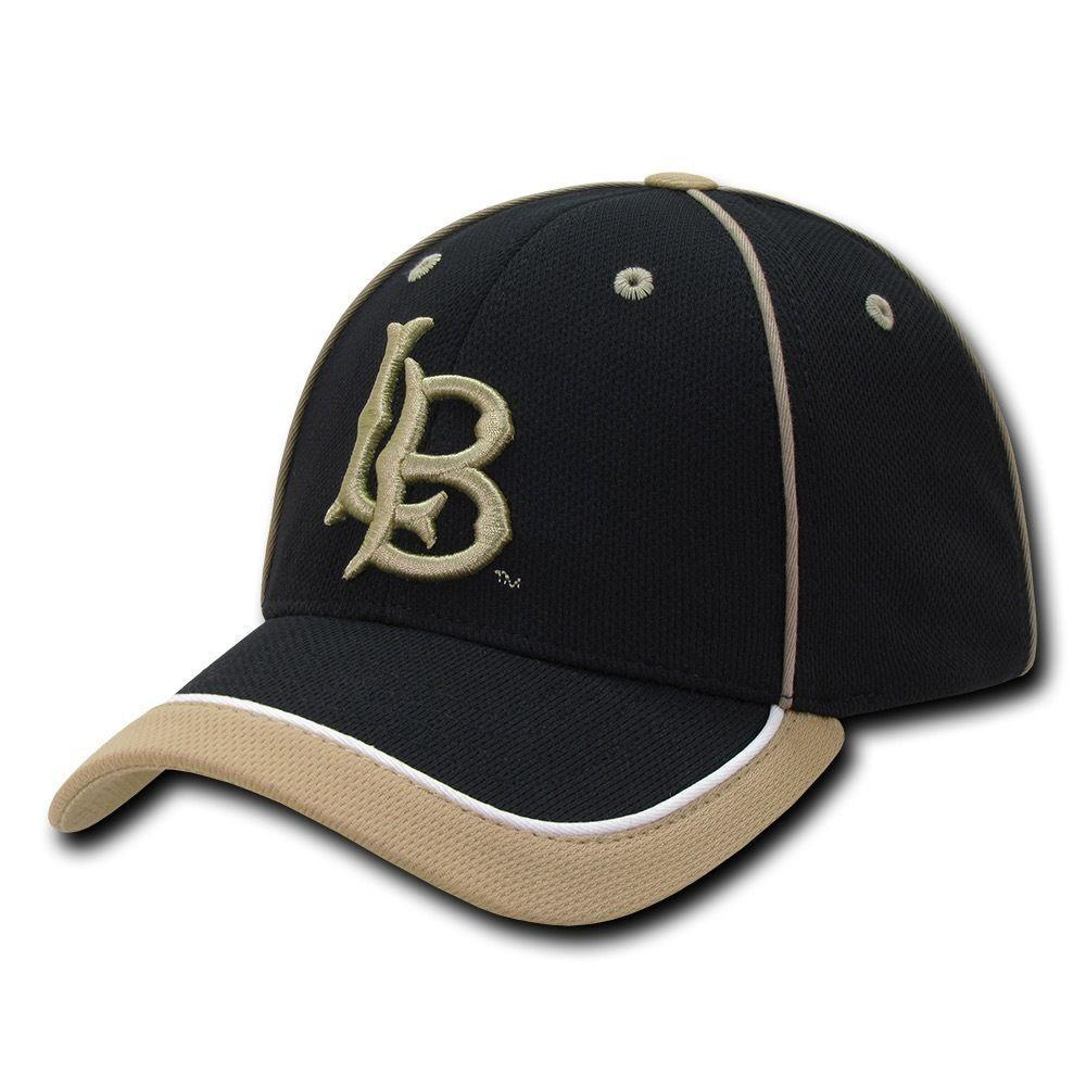 NCAA Csulb Long Beach State 49Ers California Structured Piped Baseball Hat Caps