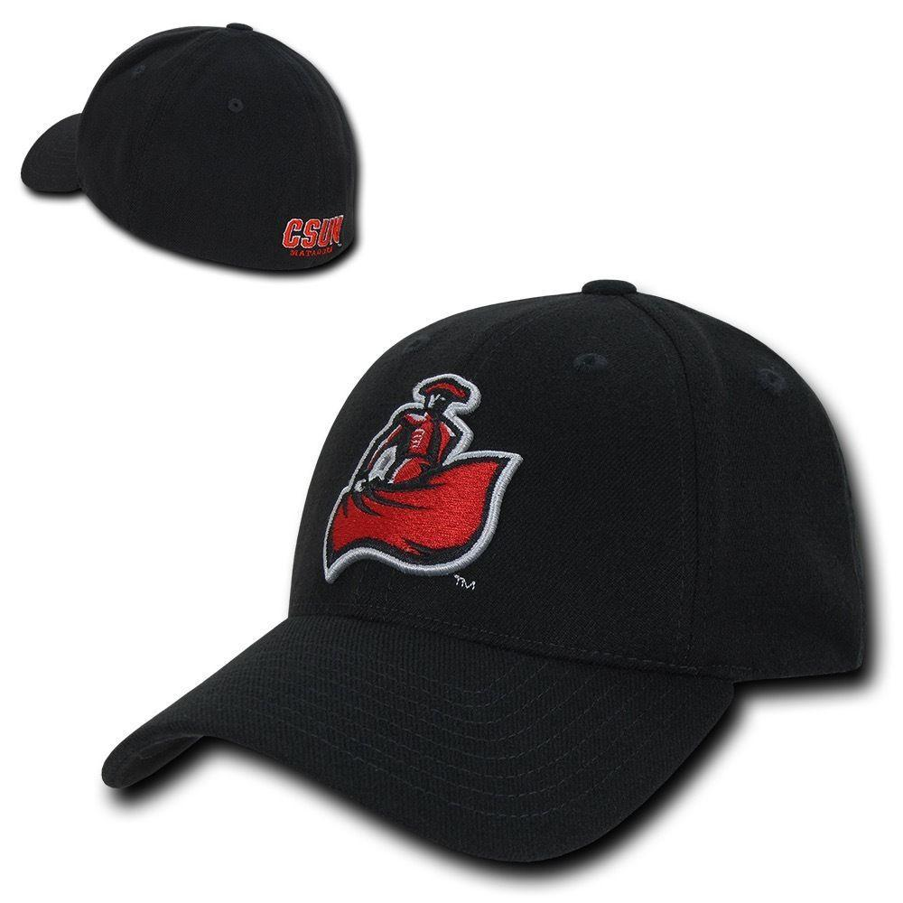 NCAA Csun Cal State Northridge U Matadors Low Constructed Flex Caps Hats
