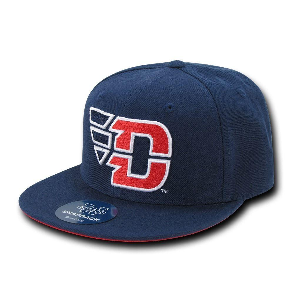 NCAA Dayton University Flyers Freshmen 6 Panel Snapback Baseball Caps Hats Navy
