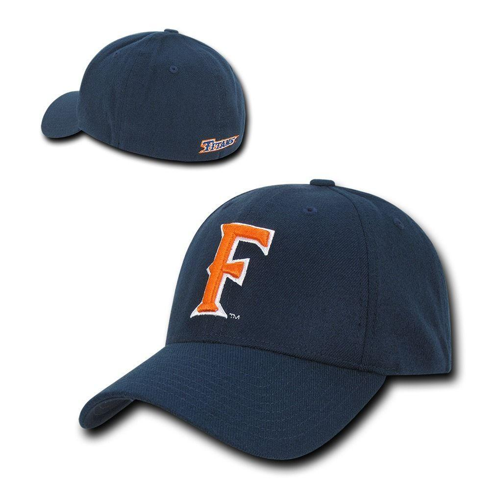 NCAA Fullerton Cal State University Titans Low Constructed Flex Acrylic Caps Hat