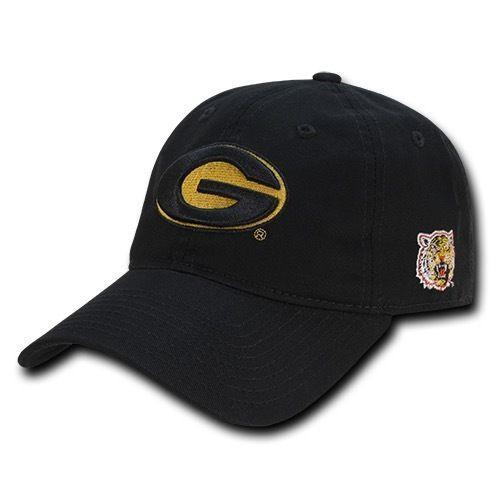 NCAA Grambling State Tigers University 6 Panel Relaxed Cotton Baseball Caps Hats