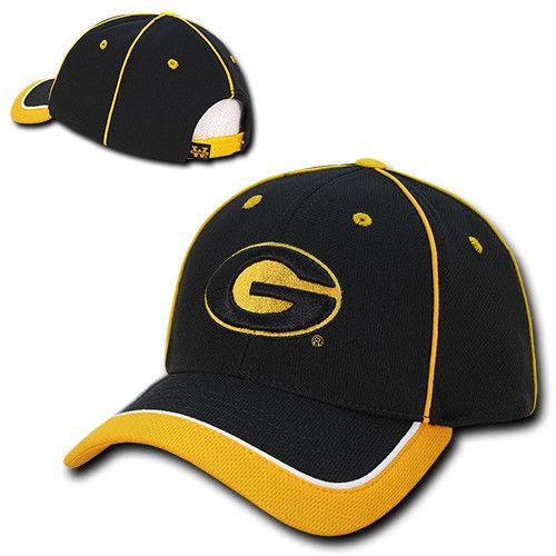 NCAA Grambling State University Lightweight Structured Piped Baseball Caps Hats
