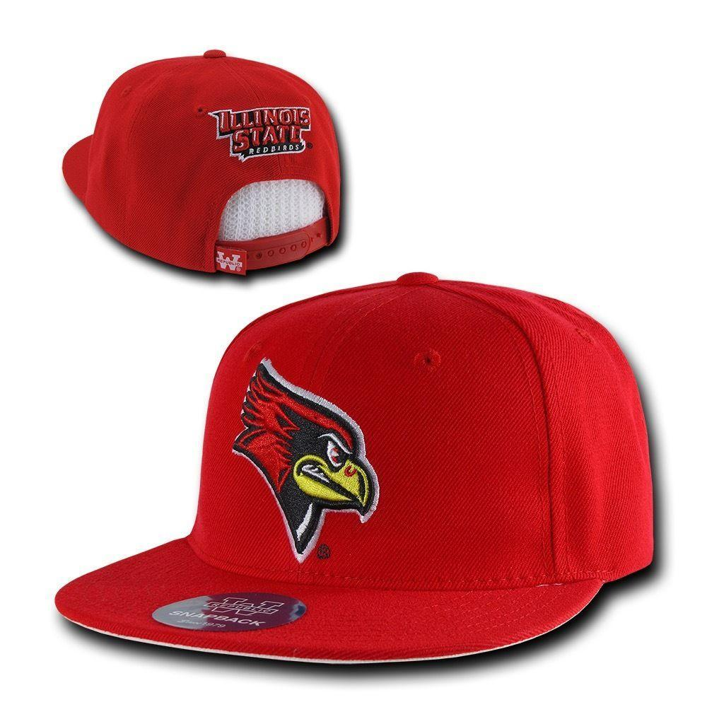 NCAA Illinois State University Redbirds Freshmen Snapback Baseball Caps Hats Red