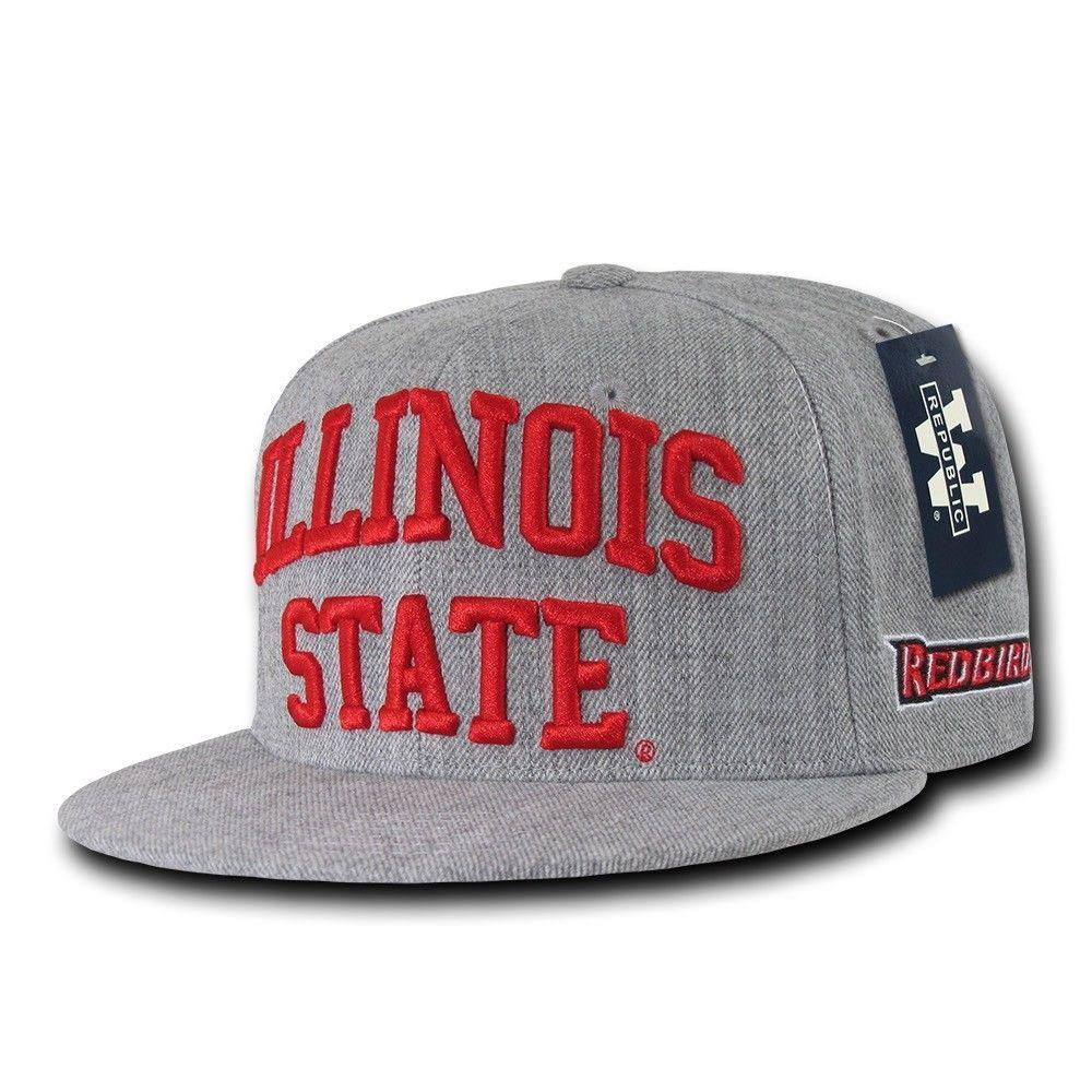 NCAA Illinois State University Redbirds Game Day Fitted Caps Hats