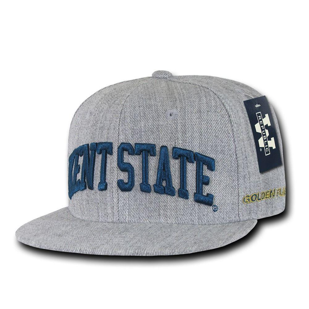 NCAA Kent State University Golden Flashes 6 Panel Game Day Snapback Caps Hats