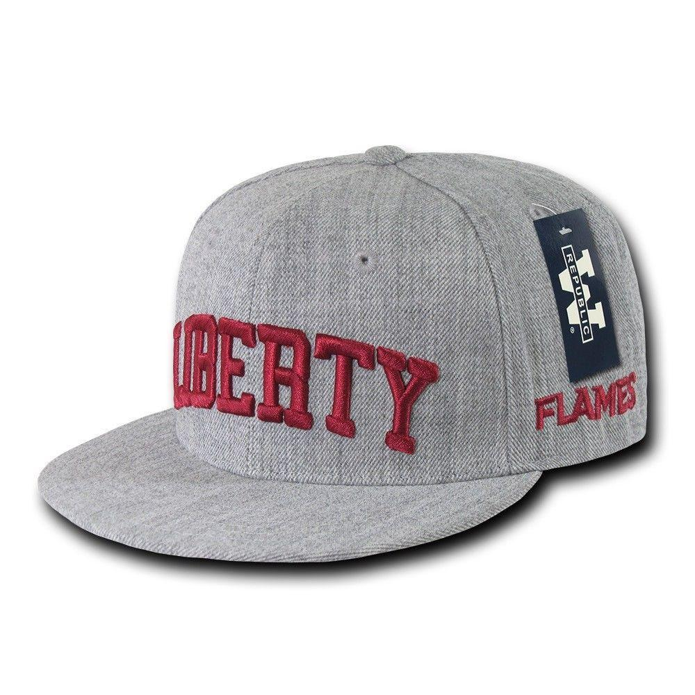 NCAA Liberty University Flames Game Day Fitted Caps Hats