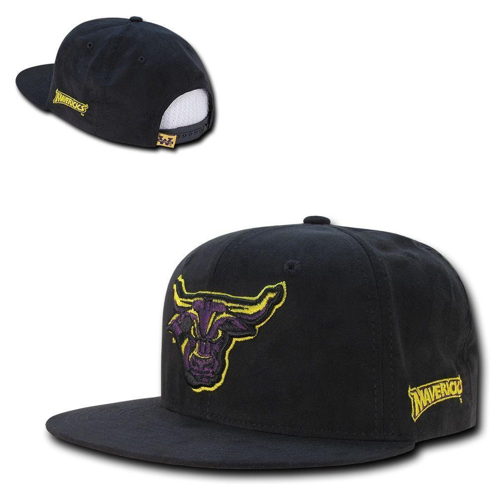 NCAA Mankato Minnesota State Mavericks University Faux Suede Snapback Caps Hats