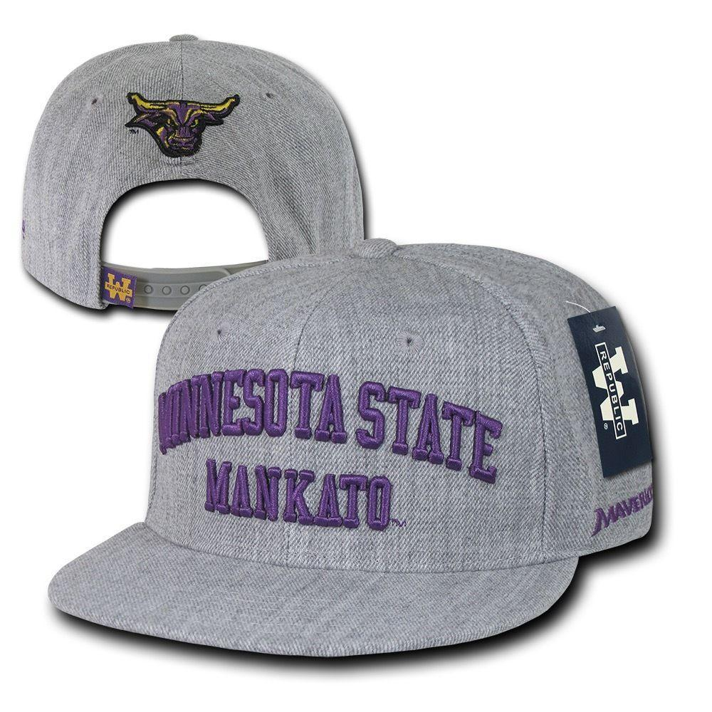 NCAA Mankato Minnesota State Mavericks University Game Day Snapback Caps Hats