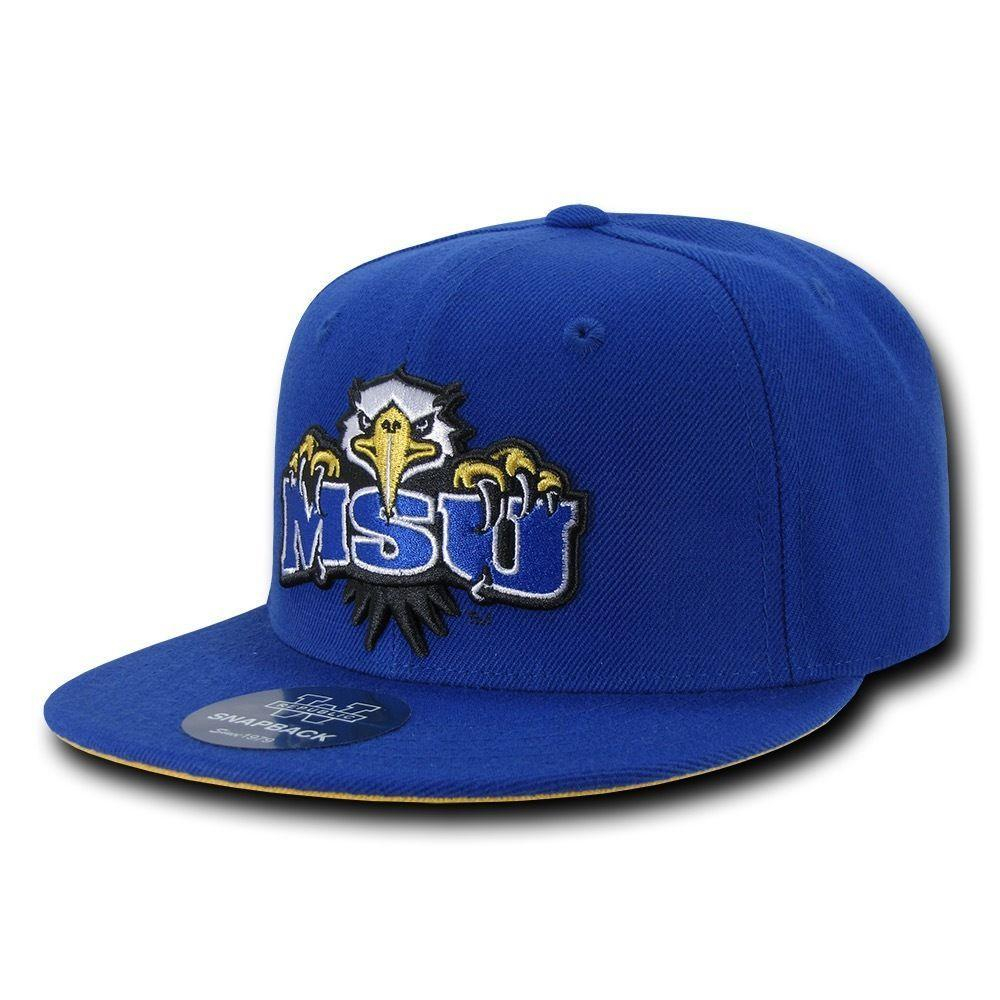 NCAA Morehead State University 6 Panel Freshmen Snapback Baseball Caps Hats
