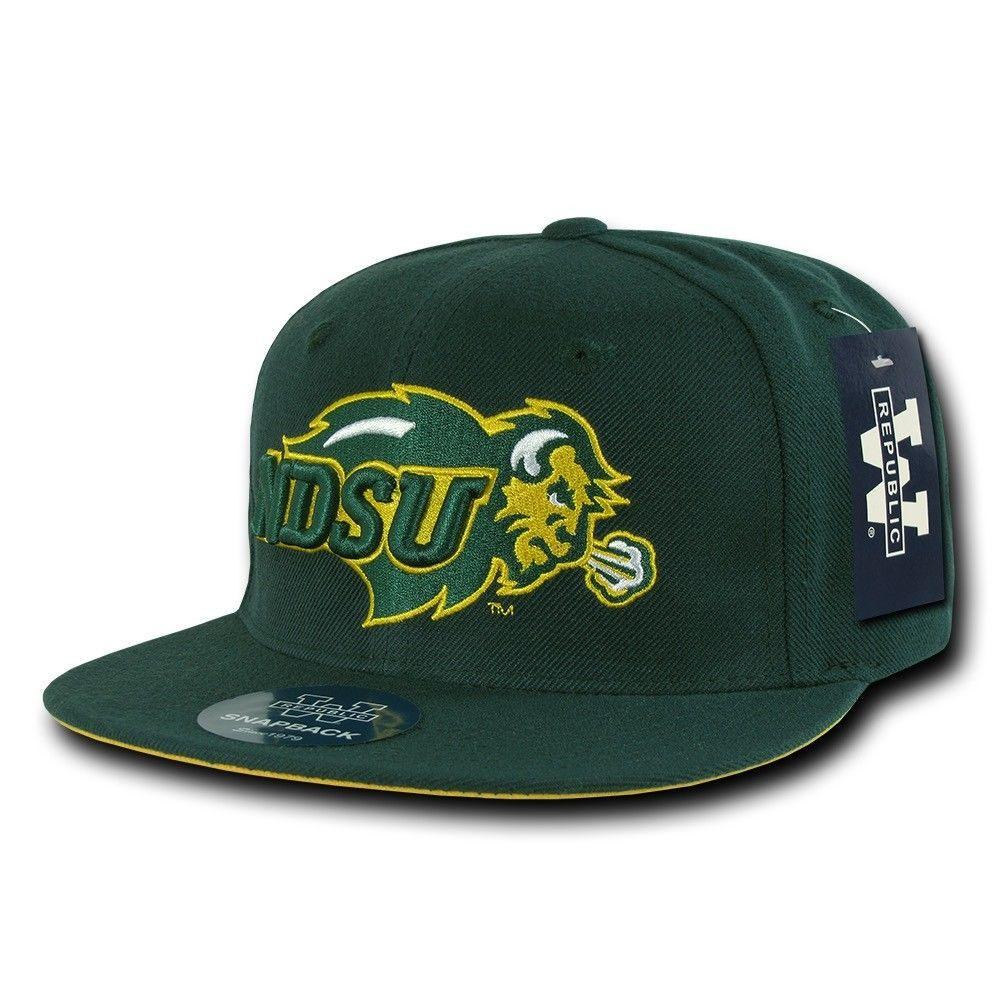 NCAA Ndsu North Dakota State Bison University College Fitted Caps Hats
