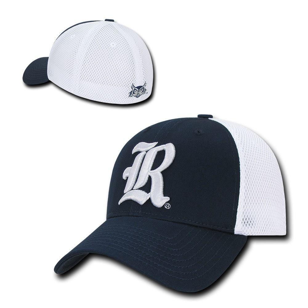 NCAA Rice Owls University Low Crown Structured Mesh Flex Baseball Caps Hats