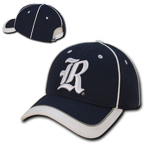 NCAA Rice University Lightweight Structured Piped Baseball Caps Hats