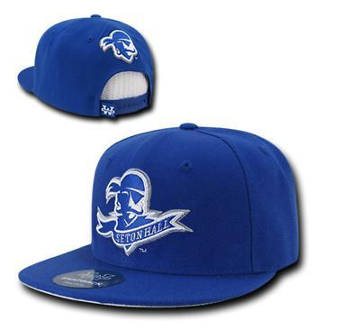 NCAA Seton Hall University Pirates Fitted Caps Hats Royal
