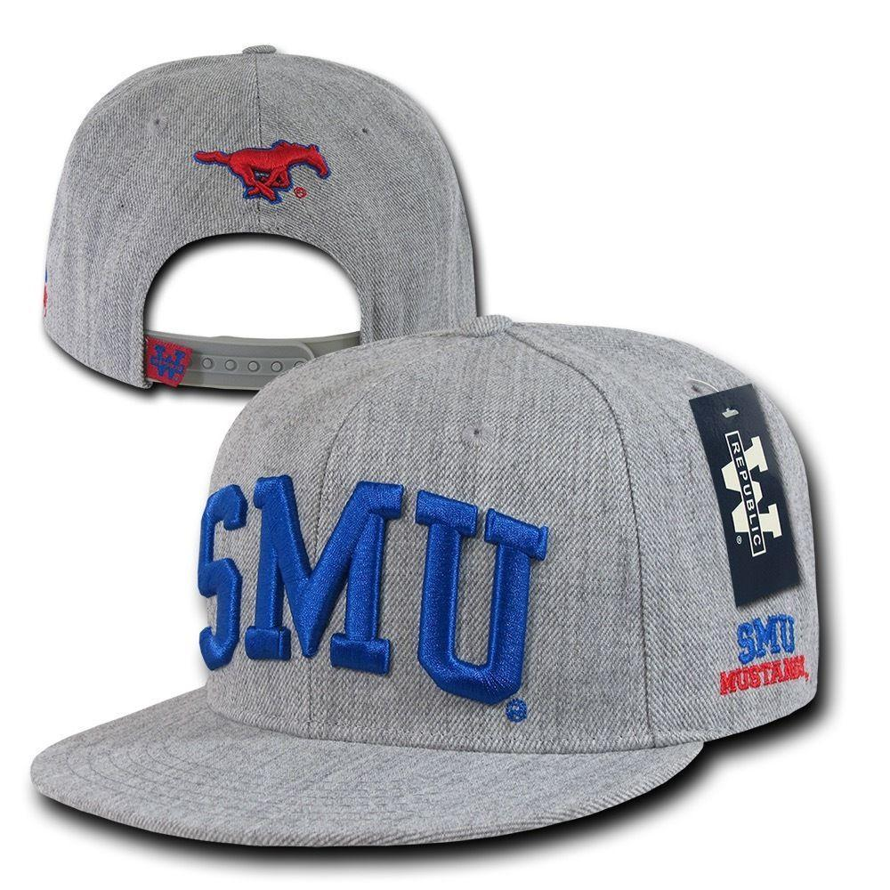 NCAA Smu Southern Methodist University Mustangs Game Day Snapback Caps Hats