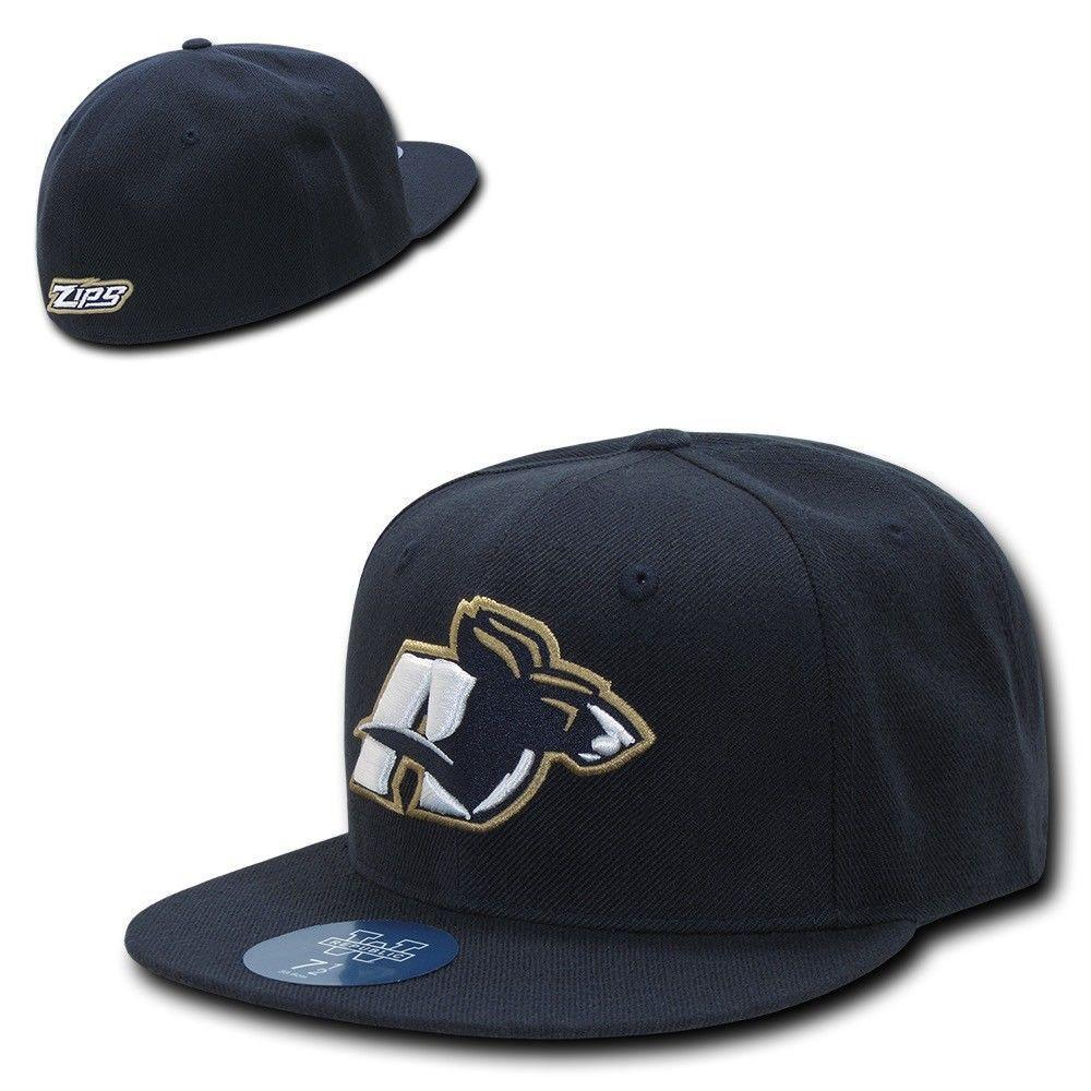 NCAA The University Of Akron Freshmen College Fitted Caps Hats