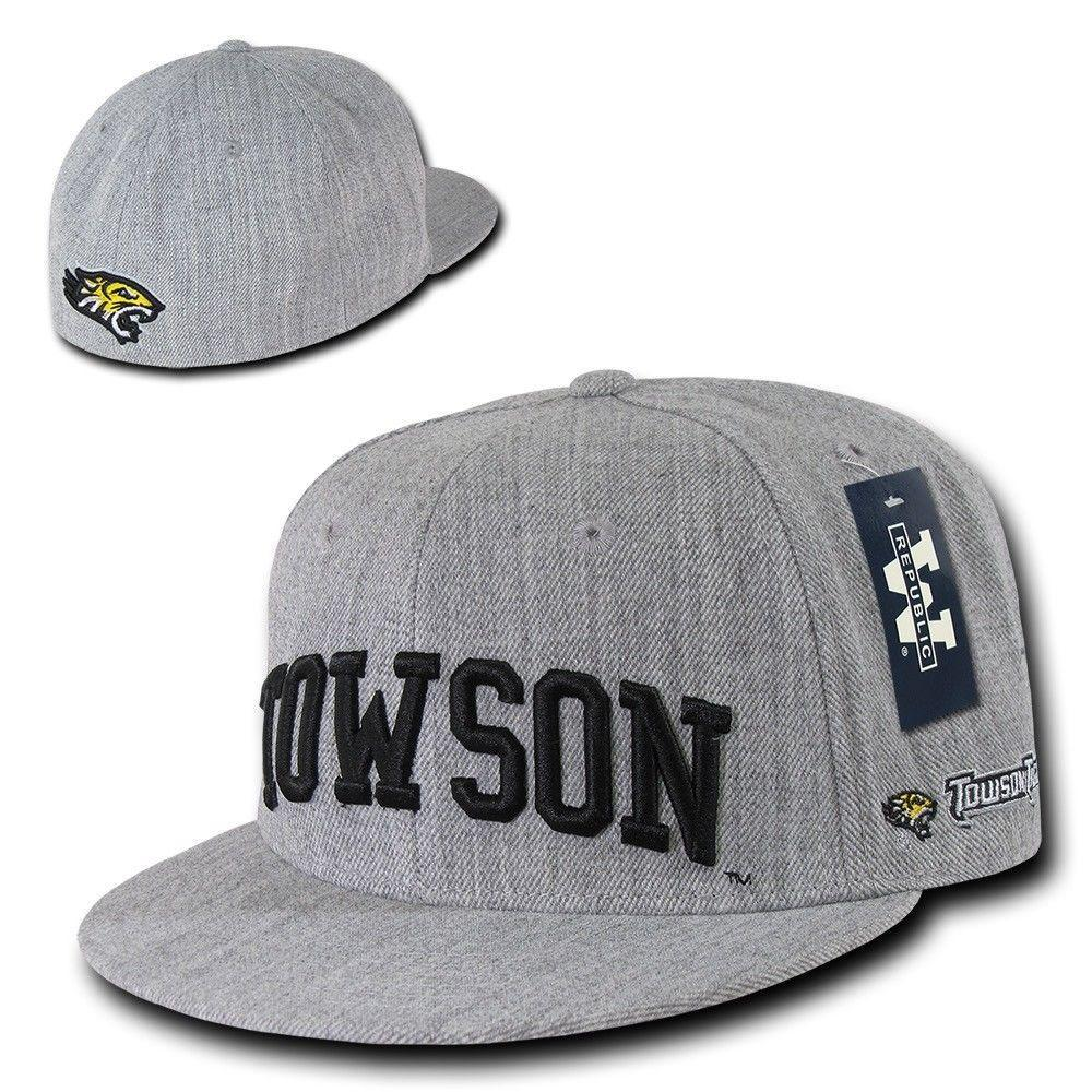 NCAA Towson University Tigers Game Day Fitted Caps Hats