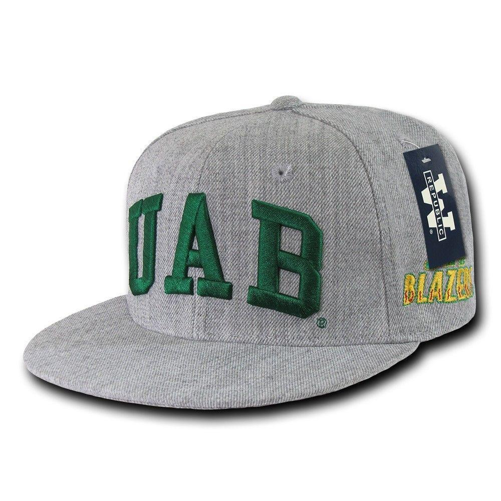NCAA Uab University Of Alabama Birmingham Blazers Game Fitted Caps Hats
