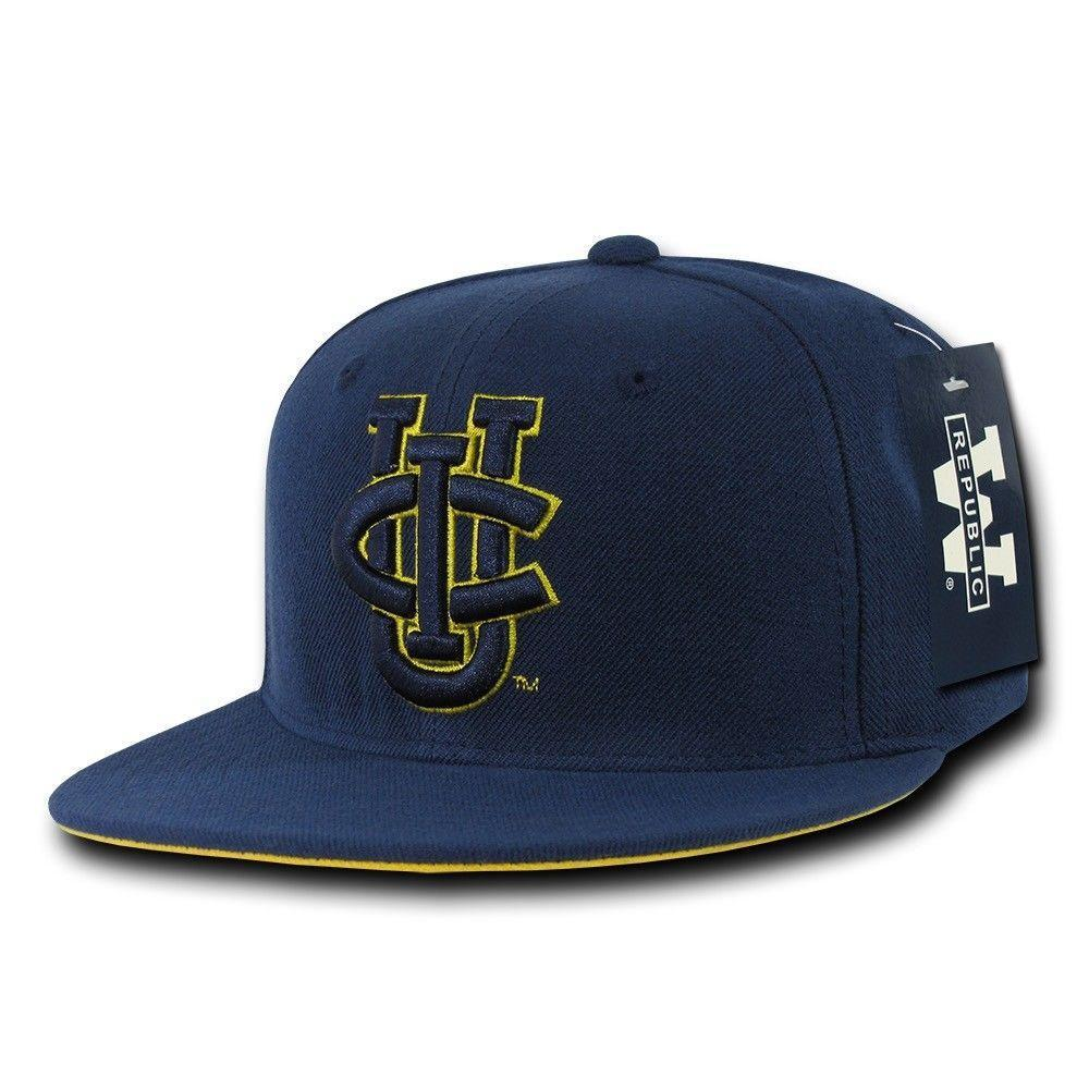 NCAA Uci Anteaters University Of California Irvine College Fitted Caps Hats Navy