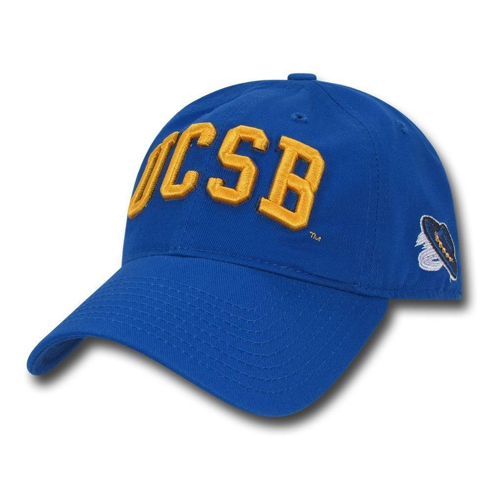 NCAA Ucsb Uc Santa Barbara Gruchos Low Crown Relaxed Cotton Baseball Caps Hats
