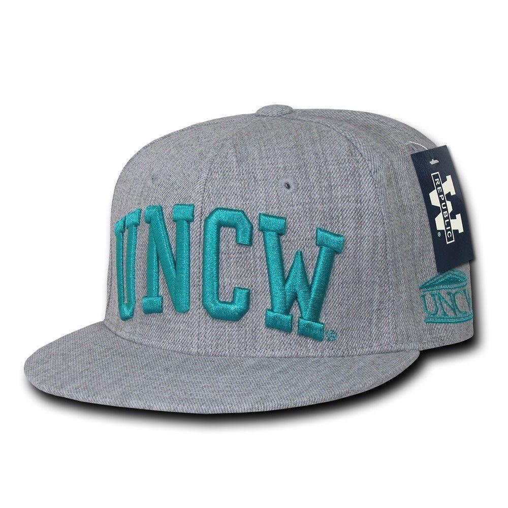 NCAA Uncw University Of North Carolina At Wilmington Seahawks Fitted Caps Hats