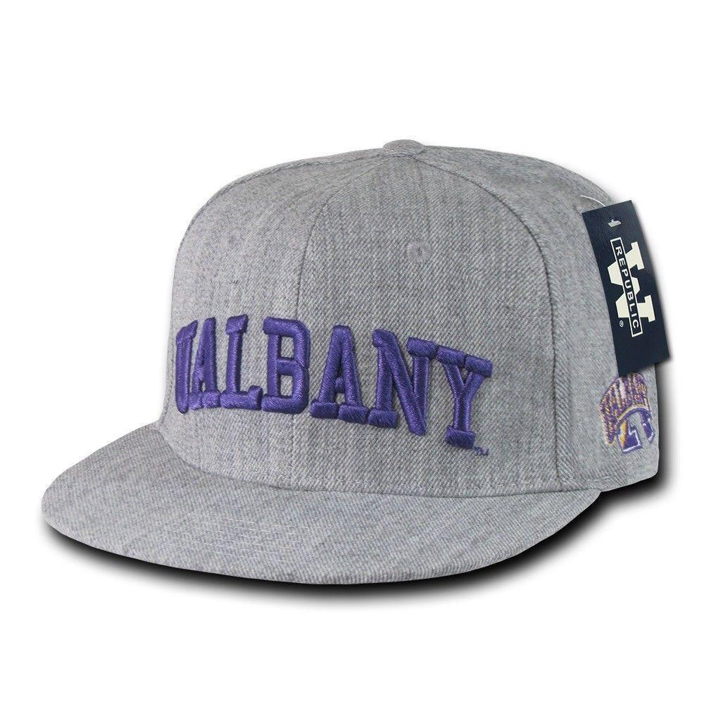 NCAA University At Albany Great Danes Game Day Fitted Caps Hats