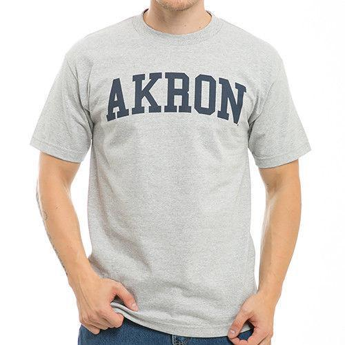 NCAA University Of Akron Game Day - W Republic Tee T-Shirt Unisex