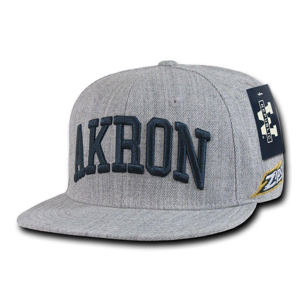 NCAA University Of Akron Zips Game Day Fitted Caps Hats