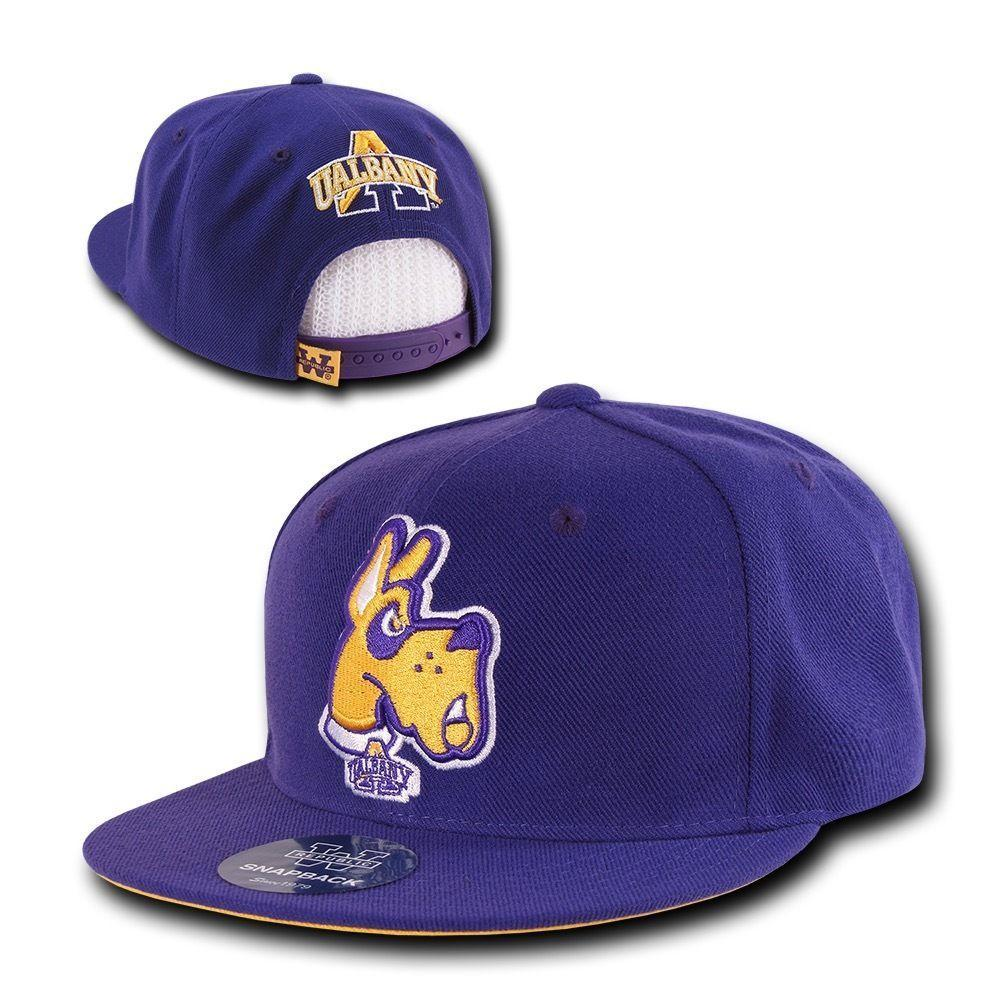 NCAA University Of Albany Great Danes 6 Panel Snapback Baseball Caps Hats