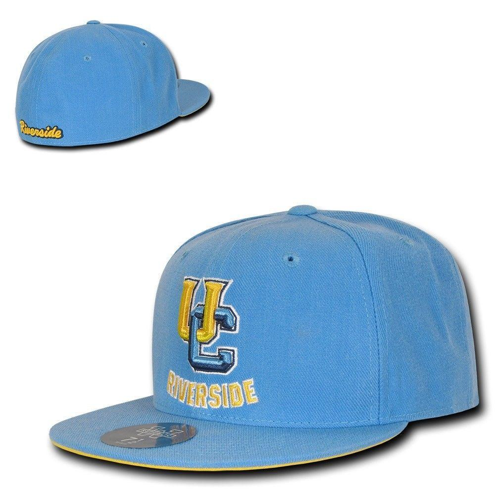 NCAA University Of California Riverside College Fitted Caps Hats Sky
