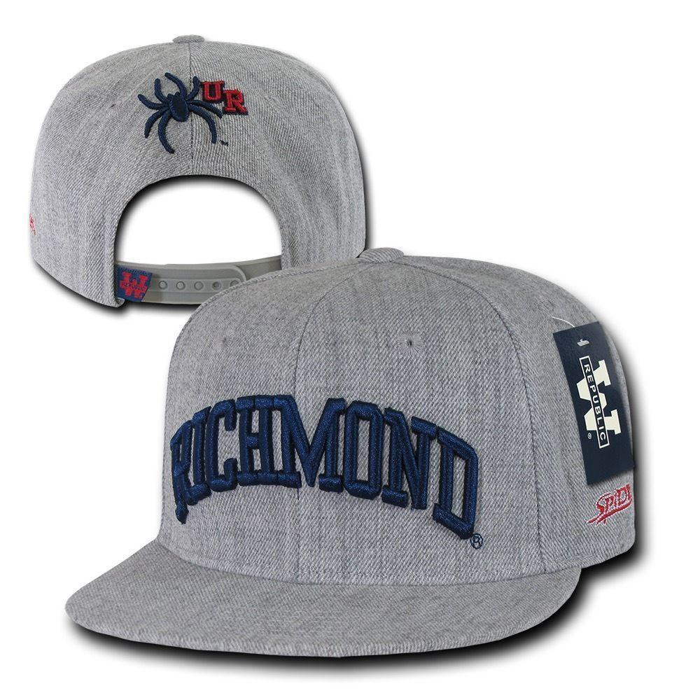 NCAA University Of Richmond Spiders 6 Panel Game Day Snapback Caps Hats