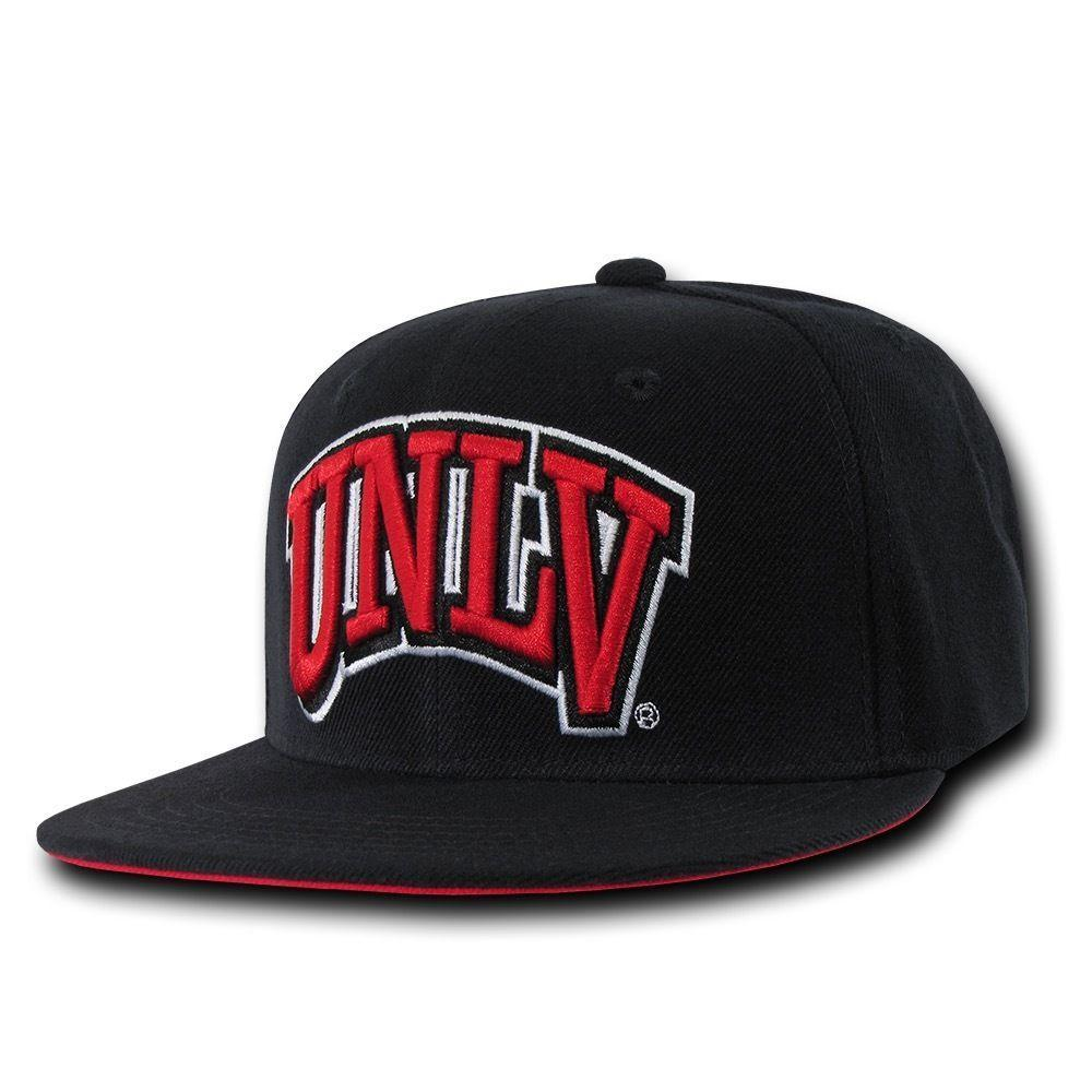 NCAA Unlv U Of Nevada Las Vegas Rebels Snapback Baseball Caps Hats