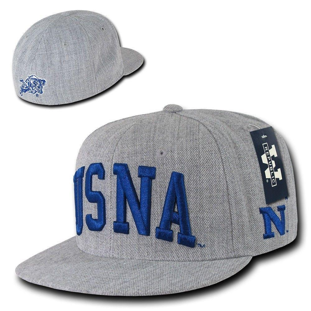 NCAA USna United States Naval Academy Game Day Fitted Caps Hats