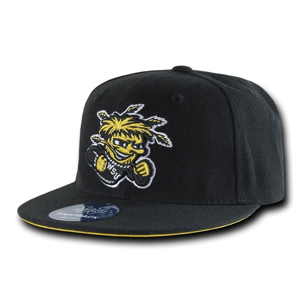 NCAA Wsu Wichita State University 6 Panel Freshmen Snapback Baseball Caps Hat