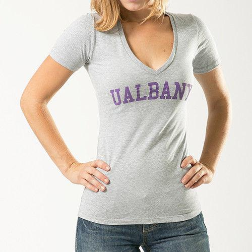 University Of Albany NCAA Game Day W Republic Womens Tee T-Shirt