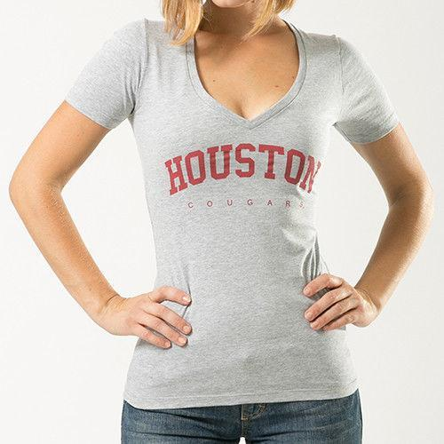 University Of Houston Cougars NCAA Game Day W Republic Womens Tee T-Shirt