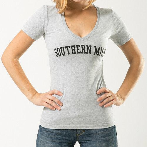 University Of Southern Mississippi NCAA Game Day W Republic Womens Tee T-Shirt