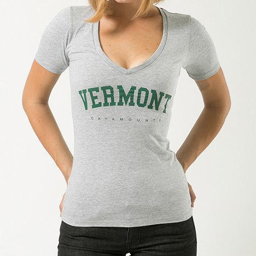 University Of Vermont Catamounts NCAA Game Day W Republic Womens Tee T-Shirt