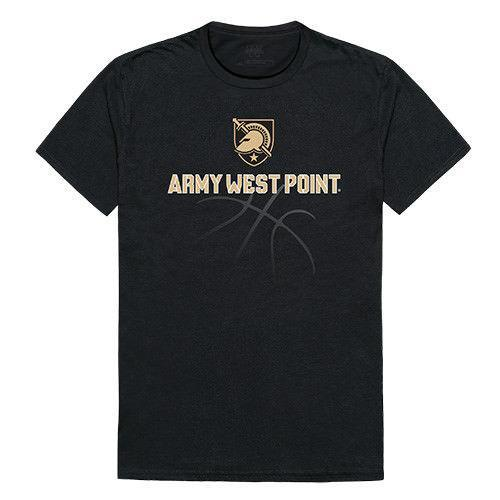 USma US Military Academy Army West Point Black Night NCAA Basketball Tee T-Shirt