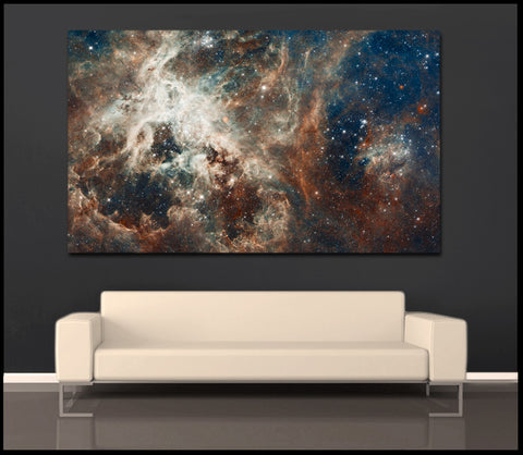 "NASA Collection ""30 Doradus"" Fine Art Gallery Wrapped Canvas Print"