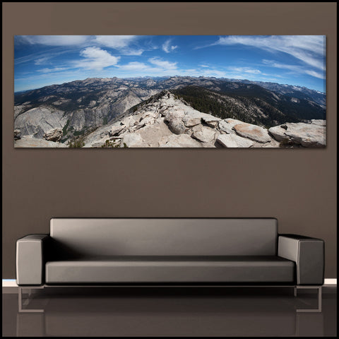 """View From The Clouds"" Yosemite Fine Art Gallery Wrapped Canvas Print"