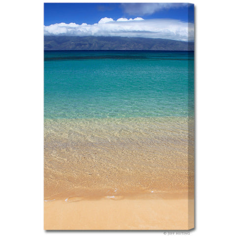 """Maui Waters"" Hawaii Fine Art Gallery Wrapped Canvas Print"