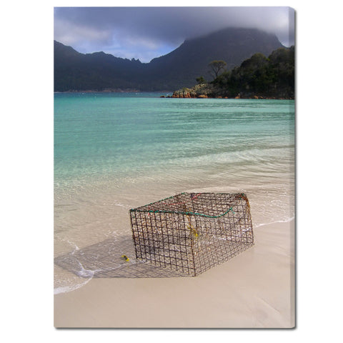 """Wineglass Bay Wonders"" Tasmania Fine Art Gallery Wrapped Canvas Print"