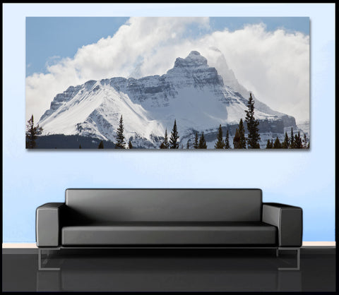 """Hidden Giant"" Canadian Rockies Fine Art Gallery Wrapped Canvas Print"