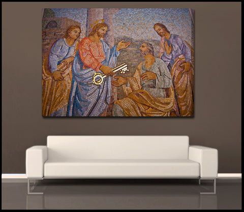 """The Key"" Vatican City Fine Art Gallery Wrapped Canvas Print"