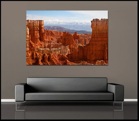 """Bryce Canyon Colors"" Fine Art Gallery Wrapped Canvas Print"