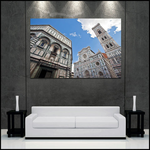 """Icons of Florence"" Italy Fine Art Gallery Wrapped Canvas Print"