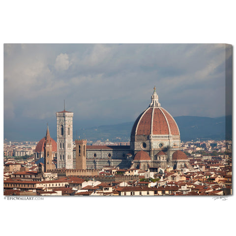"""The Duomo"" Italy Fine Art Gallery Wrapped Canvas Print"