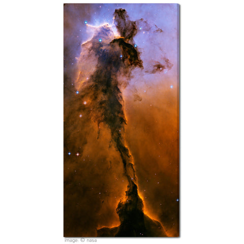"""Eagle Spire"" Celestial NASA Fine Art Gallery Wrapped Canvas Print"