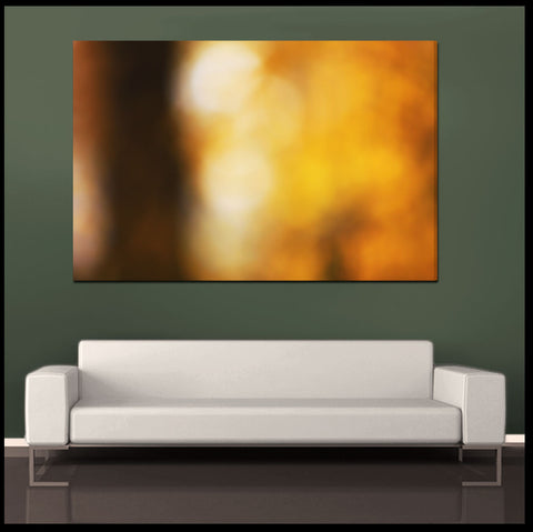 """Autumn"" Abstract Fine Art Gallery Wrapped Canvas Print"